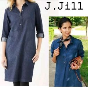 J. Jill denim Chambry dress.  Sz Lrg